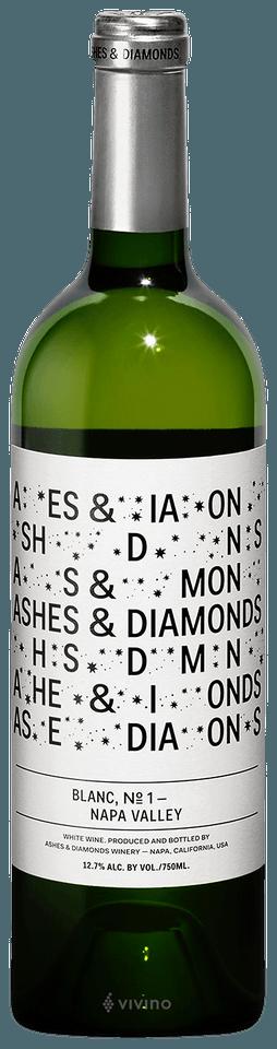 Ashes & Diamonds Blanc No 3 Napa Valley 2017 (750 ml)
