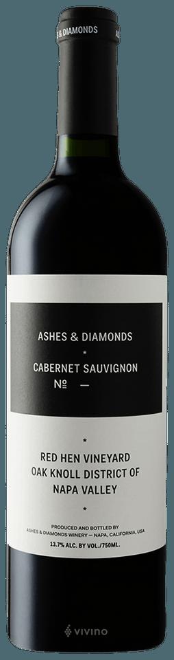 Ashes & Diamonds Red Hen Vineyard Cabernet Sauvignon No 1 2017 (750 ml)