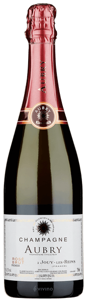 Aubry Brut Rose Champagne Premier Cru (750 ml)