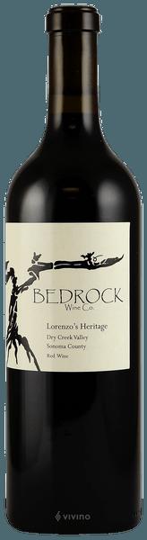 Bedrock Wine Co. Lorenzo's Heritage Dry Creek Valley 2017 (750 ml)