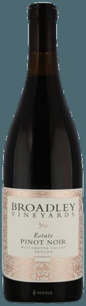 Broadley Estate Pinot Noir 2018 (750 ml)