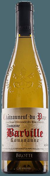 Brotte Roussanne Chateauneuf-du-Pape Domaine Barville Blanc 2017 (750 ml)