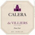 Calera de Villiers Vineyard Pinot Noir Mount Harlan 2016 (750 ml)