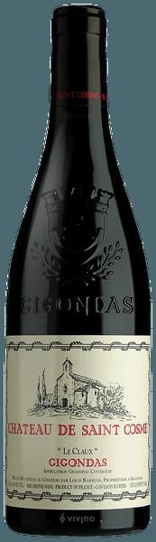 Chateau de Saint Cosme Gigondas Le Claux 2018 (750 ml)