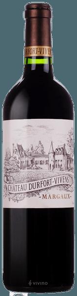 Chateau Durfort-Vivens Margaux (Grand Cru Classe) 2016 (750 ml)