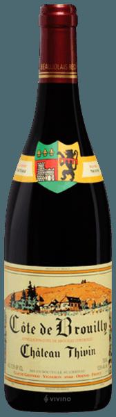 Chateau Thivin Cote de Brouilly 2019 (375 ml)