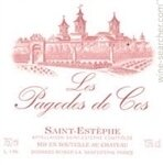 Chateau Cos d'Estournel Les Pagodes de Cos Saint-Estephe 2016 (750 ml)