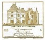 Chateau Haut-Brion Pessac Leognan 2016 (750 ml)