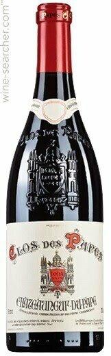 Clos des Papes Chateauneuf-du-Pape Rhone 2019 (750 ml)