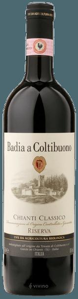 Coltibuono Chianti Classico Riserva 2016 (750 ml)