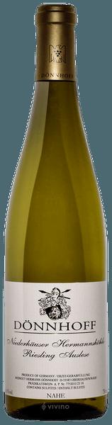 Donnhoff Niederhauser Hermannshohle Riesling Auslese 2018 (750 ml)