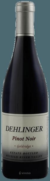 Dehlinger Goldridge Vineyard Pinot Noir 2017 (750 ml)