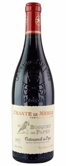 Domaine Bosquet des Papes Chateauneuf-du-Pape Chante le Merle Vieilles Vignes Rhone 2019 (750 ml)