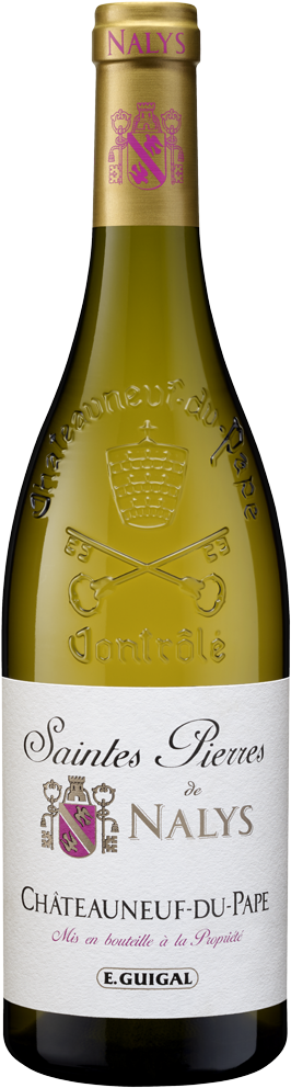 Domaine de Nalys Chateauneuf-du-Pape Saintes Pierres de Nalys Blanc Rhone 2017 (750 ml)
