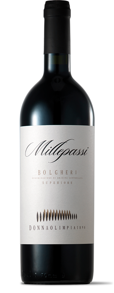 Donna Olimpia 1898 Millepassi Bolgheri Superiore Tuscany 2015 (750 ml)