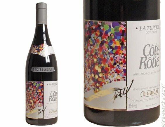 E. Guigal Cote Rotie La Turque Rhone 2014 (750 ml)