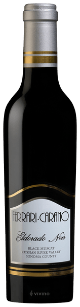 Ferrari-Carano Black Muscat Eldorado Noir 2017 (375 ml)