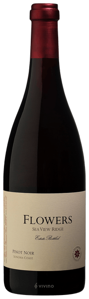 Flowers Sea View Ridge Pinot Noir Sonoma Coast 2017 (750 ml)