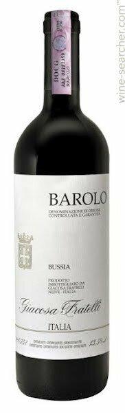Fratelli Giacosa Bussia Barolo 2013 (750 ml)