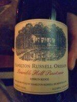 Hamilton Russell Oregon Bramble Hill Pinot Noir 2018 (750 ml)
