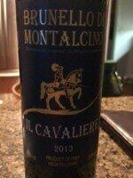Il Cavaliere Brunello di Montalcino 2013 (750 ml)