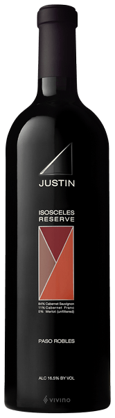 Justin Isosceles Reserve 2015 (750 ml)