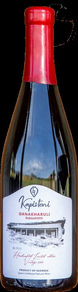 Kapistoni Danakharuli 2019 (750 ml)