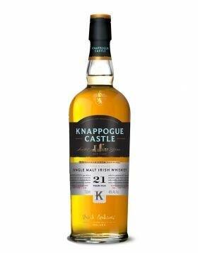 Knappogue Castle 21 years Old Single Malt Irish Whiskey Ireland (750 ml)