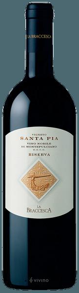 La Braccesca Vigneto Santa Pia Riserva 2015 (750 ml)