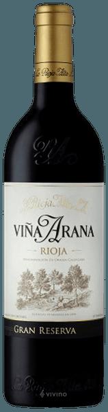 La Rioja Alta Vina Arana Gran Reserva 2014 (750 ml)