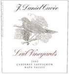 Lail Vineyards J. Daniel Cuvee Cabernet Sauvignon Napa Valley 2018 (750 ml)
