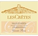 Les Cretes Valle d'Aosta Cuvee Bois Chardonnay Aosta Valley 2016 (750 ml)