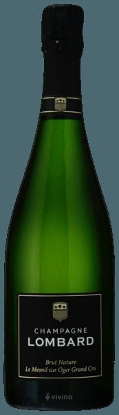 Lombard & Cie Brut Nature Champagne Grand Cru Le Mesnil-sur-Oger (750 ml)