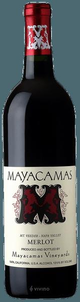 Mayacamas Merlot Mount Veeder 2018 (750 ml)
