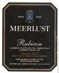 Meerlust Rubicon Stellenbosch 2017 (750 ml)