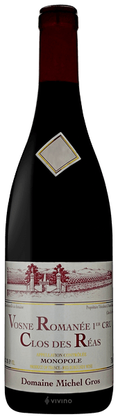 Michel Gros Vosne-Romanee 1er Cru Clos des Reas 2017 (750 ml)