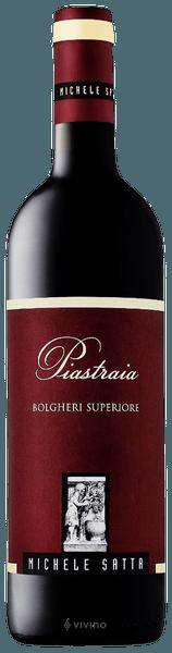 Michele Satta Piastraia Bolgheri Superiore 2016 (750 ml)