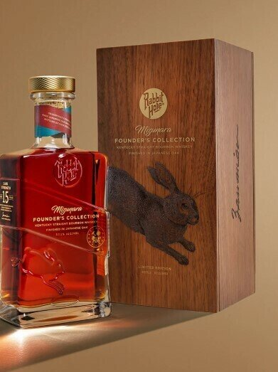 Mizunara Founder's Collection 15-Year-Old Cask Strength KY Straight Bourbon Finished in Japanese Oak