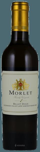 Morlet Family Vineyards Billet Doux Late Harvest 2012 (375 ml)