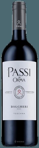 Orma Passi di Orma Bolgheri 2017 (750 ml)