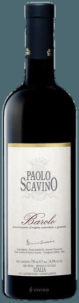 Paolo Scavino Barolo 2016 (1.5 L)