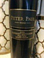 Peter Paul Cabernet Sauvignon 2014 (750 ml)