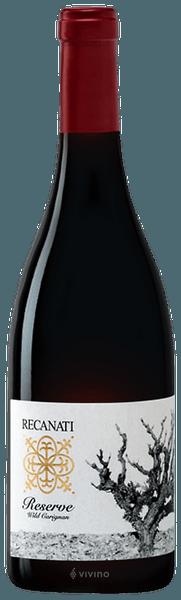 Recanati Winery Reserve Wild Carignan Judean Hills 2016 (750 ml)