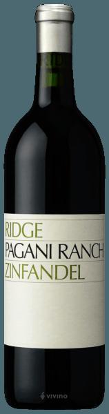 Ridge Vineyards Pagani Ranch Zinfandel 2018 (750 ml)