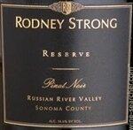 Rodney Strong Reserve Pinot Noir Russian River Valley 2015 (750 ml)