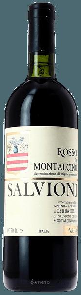Salvioni Rosso di Montalcino 2017 (750 ml)