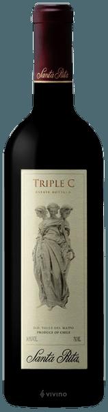 Santa Rita Triple C Red Blend 2017 (750 ml)