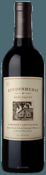 Spottswoode Lyndenhurst Cabernet Sauvignon 2018 (750 ml)