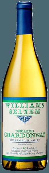 Williams Selyem Unoaked Chardonnay 2018 (750 ml)