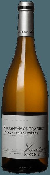 Xavier Monnot Puligny-Montrachet 1er Cru Les Folatières 2016 (750 ml)